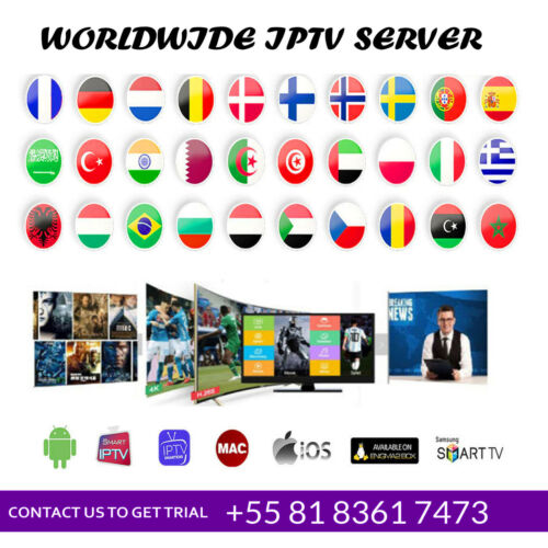 IP.TV 1 year subscription (STB ✔️ FireStick✔️M3U✔️SMART TV✔️ANDROID✔️MAG✔️4K)
