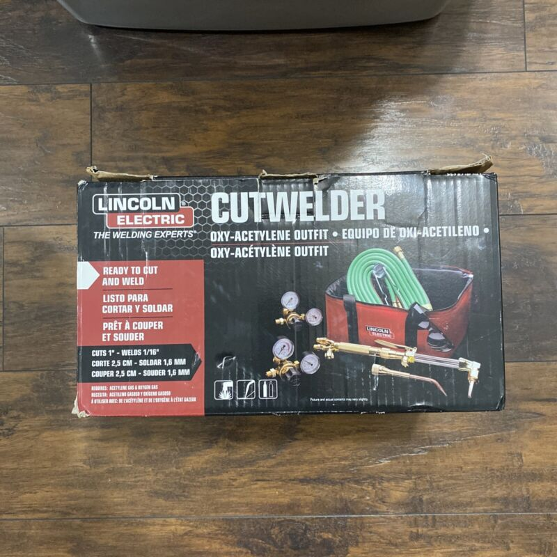Lincoln Electric Cutwelder Oxy-Acetylene Outfit KH995