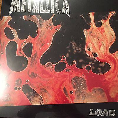 METALLICA - LOAD  - 2 X LP VINYL - BLACKENED RECORDINGS - NEW AND SEALED