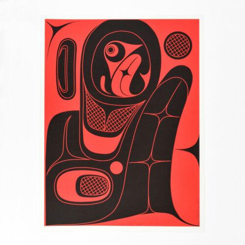 Modern Northwest Coast Native Serigraph Rande Cook