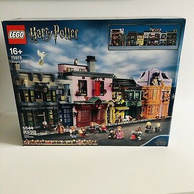 LEGO Harry Potter 75978 Diagon Alley Brand New Sealed Box 5544 Pieces