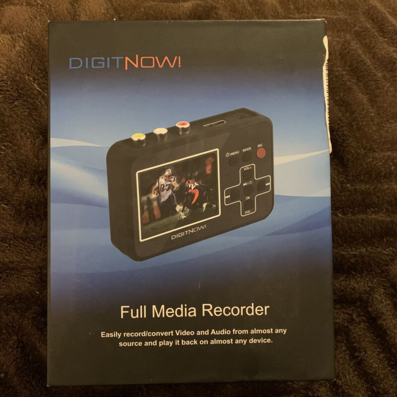 DIGITNOW! iRECORD FULL HD MEDIA RECORDER WITH 4GB  US SELLER