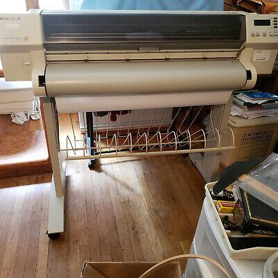 Hewlett Packard Designjet 750c Wide Format Printer Plotter