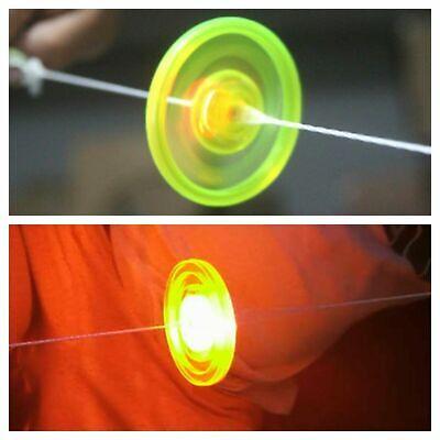 Sensory Spinning Toy -Fly Wheel Whistle LED Light -Fidget Stress Autism ADHD SEN