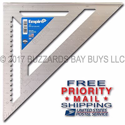 New Empire 12  Magnum Rafter Angle Square 3990   Free Priority Mail Shipping
