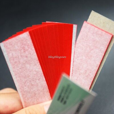 1 Box Dental Articulating Paper Practical Soft Thin Strips Red 10 Sheet 20 Book