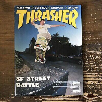 THRASHER magazine February 1996 SKATEBOARDING/SKATEBOARD