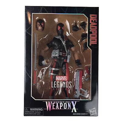 Marvel Legends Series 12-inch Deadpool Figure Agent Of Weapon X