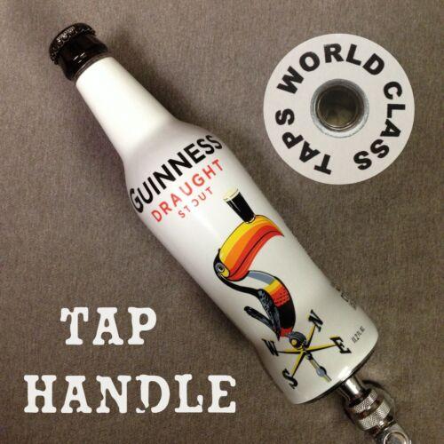 GUINNESS BEER TAP HANDLE Toucan 1930s art bottle DRAUGHT STOUT pub BAR marker
