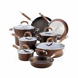 CIRCULON 13P Non Stick Induction Stainless Steel Saucepan Pots Pan Cookware Set