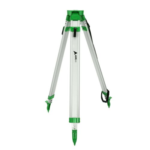 AdirPro Flat Head Green Aluminum Tripod, Survey, Contractor, Laser, Auto level