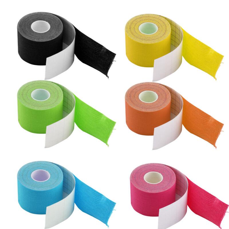 6 Kinesiologie Tape Farben Bänder Kinesiology Physiotape 5cmx5m Beförderung 1