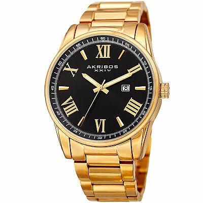 Akribos XXIV Men's Classsic  AK936YGB Wrist Watch