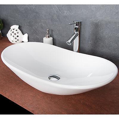 Design Keramik Waschschale Aufsatzwaschbecken Waschtisch Badezimmer Waschplatz