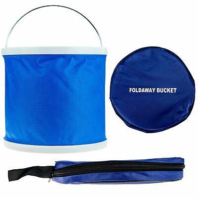 Cubo Plegable Azul