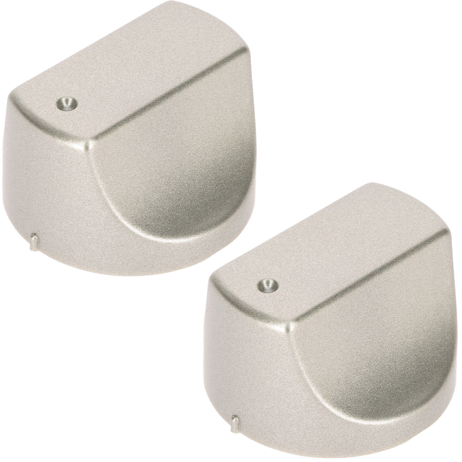 5 Silver Control Switch Knobs for HOTPOINT Hot-Ari ix Oven DH53XS DH93CX DH93CXS