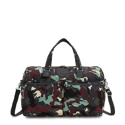 Kipling Itska Printed Duffle Bag Camo L