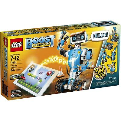 New Sealed Lego 17101 Boost Creative Toolbox Building And Coding Kit 847Pcs