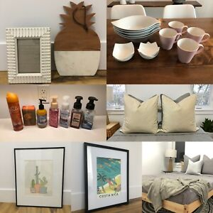 New or excellent condition home items