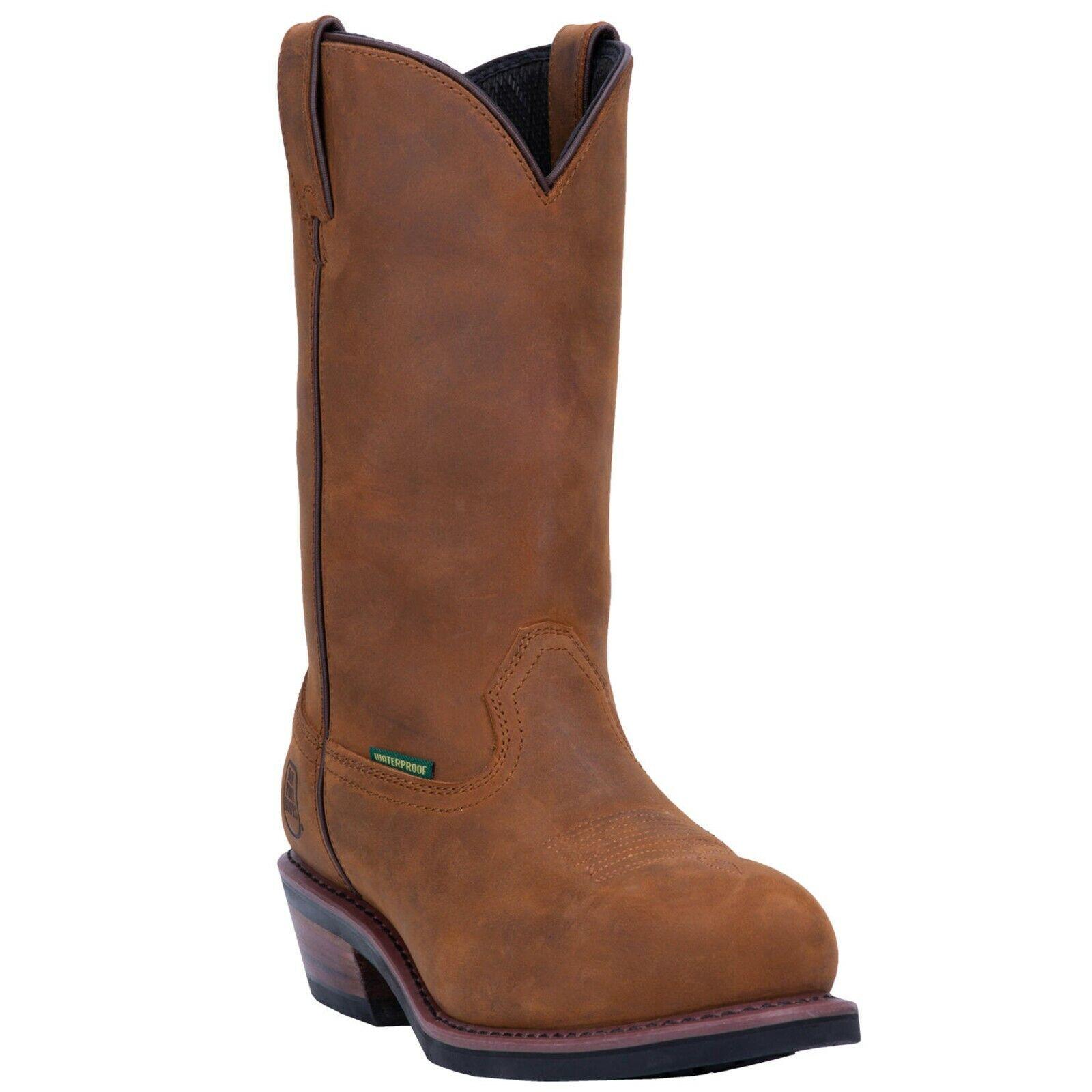 albuquerque dp69681 men s brown leather waterproof