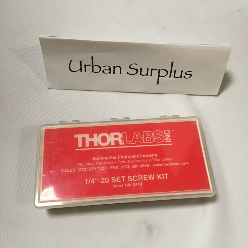 "Thorlabs  Set Screw Kit  1/4""-20  HW-KIT4"