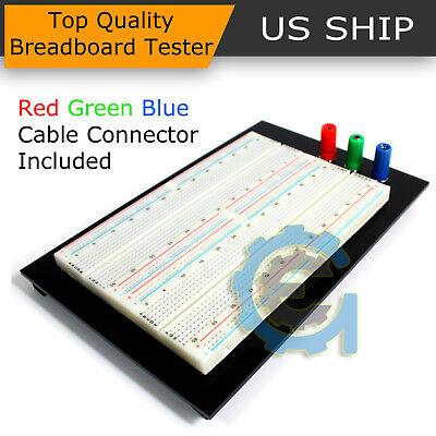 Solderless Breadboard Protoboard Tp Tie-point 1610 Hole Pcb Prototype Board Us