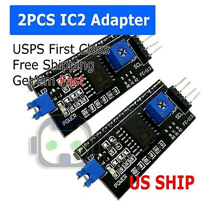 2X IIC/I2C Interface Serial  Board Adapter Module Arduino 1602 2004 LCD (Lcd Interface)