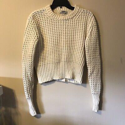 acne studios knitt Cream sweater Size Small