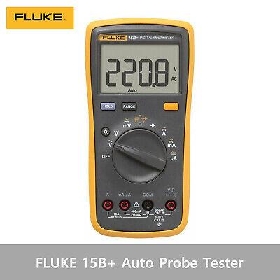Fluke 15b Auto Probe Meter Temperature Voltage Current Tester