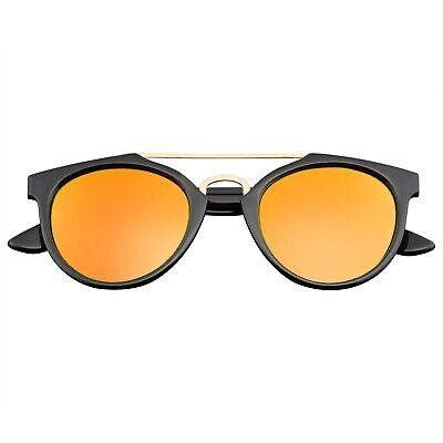 Vintage Inspired Dapper Cross Bar Flash Mirror Lens (Cheap Vintage Eyewear)