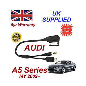 AUDI A5 Series cable For Samsung Galaxy S2 S3 S4 S5 Micro USB & AUX 3.5mm Cable