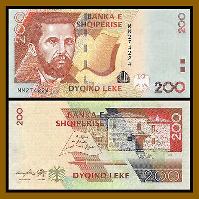 Albania Paper Money 200 LEK 1992  UNC