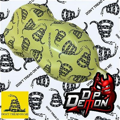 Dont Tread On Me Flag Camo Hydrographic Water Transfer Film Hydro Dip Dipping