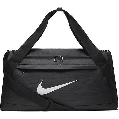 Nike Brasilia Duffel Bag Small Rush Pink/Black/White