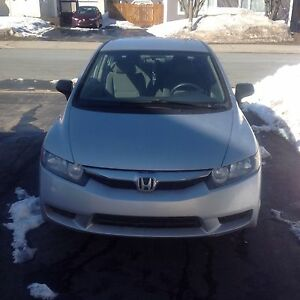 2010 HONDA CIVIC DX, WARRANTY REMAINING, PRIVATE SALE