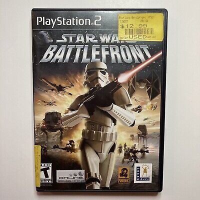 Star Wars Battlefront PS2 Sony PlayStation 2 Scratched Working Game CIB & Tested