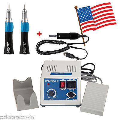 Usa Dental Marathon Electric Micro Motor 35krpm Low Handpiece Straight E-type