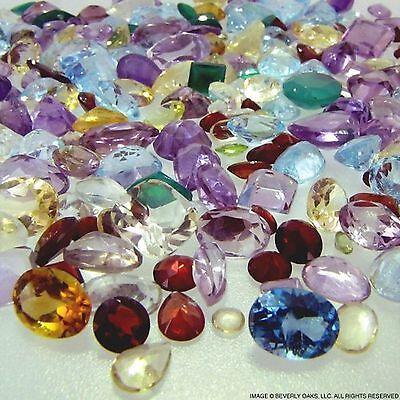 200+ Carats Mixed Gem Natural Loose Gemstone Mix Lot Wholesale Loose Mixed Gemst