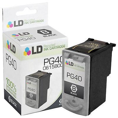 LD 0615B002 PG40 Black Ink Cartridge for Canon (0615b002 Pg 40 Black Ink)