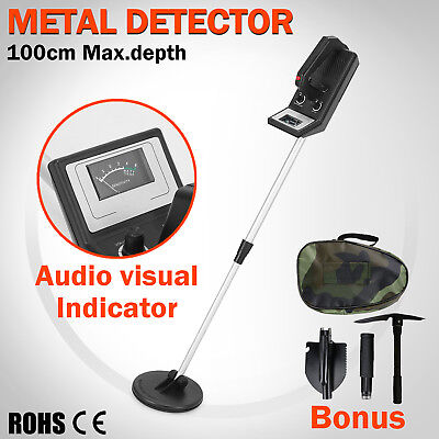 Metal Detector Sensitive Treasure Coin Gold Bounty Hunter Search Adjustable