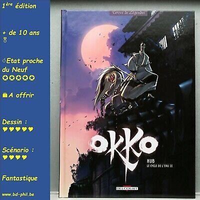 Okko, 2, Le cycle de l'eau 2, Hub, Delcourt, EO, 2006, EN, C