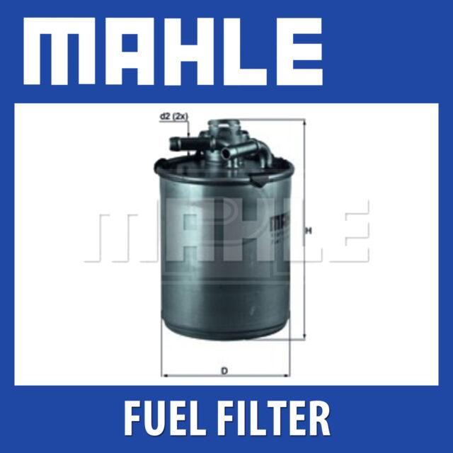 Mahle Fuel Filter KL497D - Fits Seat, Skoda, VW - Genuine Part