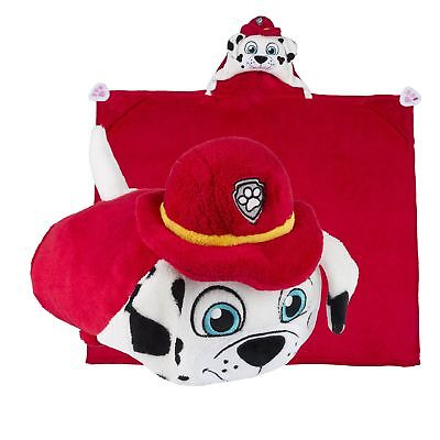 paw patrol marshall pillow and blanket 1pc