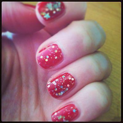 Christmas on fingers...