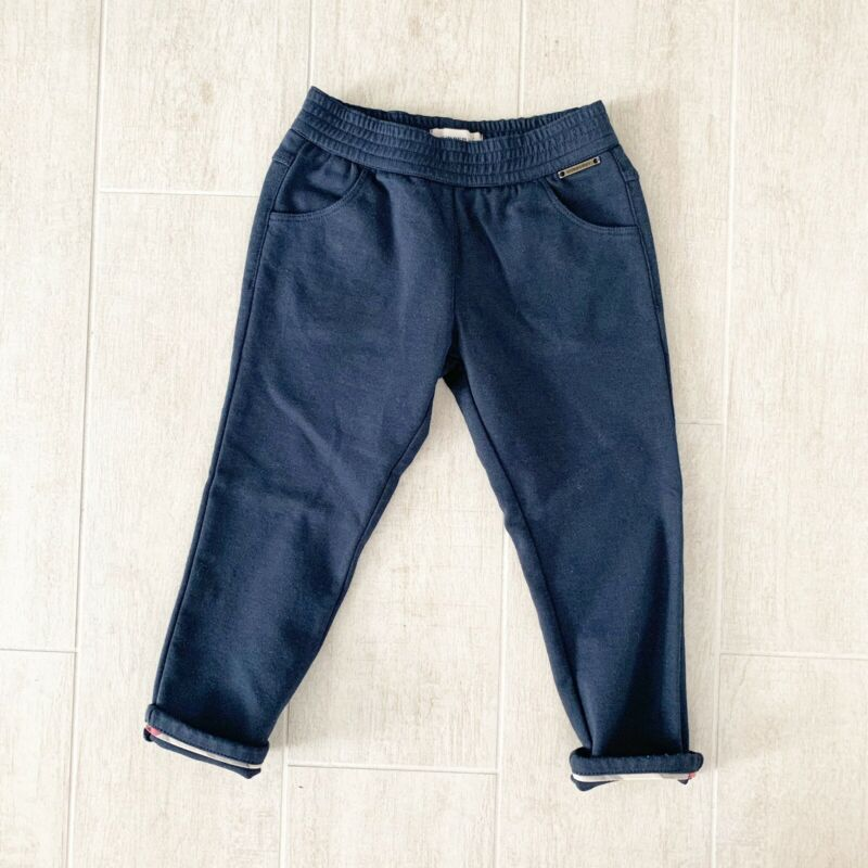 Burberry Navy Blue Pants size 3Y/3T