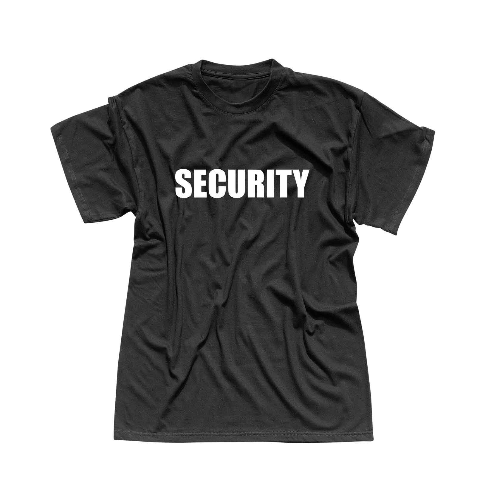 T-Shirt Security Sicherheitsdienst Party Sicherheit 13 Farben Herren XS - 5XL