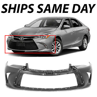 - NEW Primered Front Bumper Cover Fascia for 2015 2016 2017 Toyota Camry 15 16 17