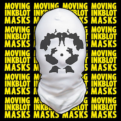 Halloween Costume Rorschach Moving Inkblot Mask - Psychotic](Rorschach Halloween Costume)