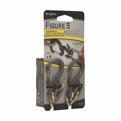 Nite Ize C9s-03-Tp01 2 Count Small Figure 9TM Carabiner