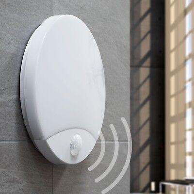 LED Außenleuchte mit Bewegungsmelder 15W Wandleuchte PIR Sensor IP44 TOPAZ